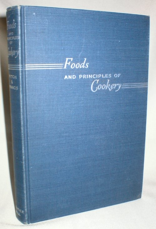 Image for Foods and Principles of Cookery
