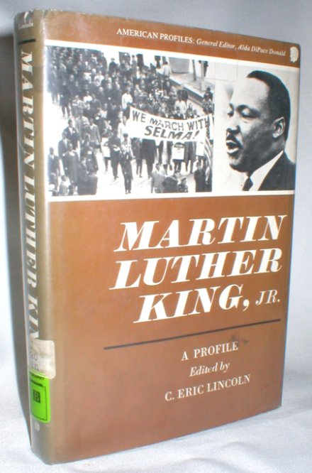 Image for Martin Luther King, Jr.; A Profile