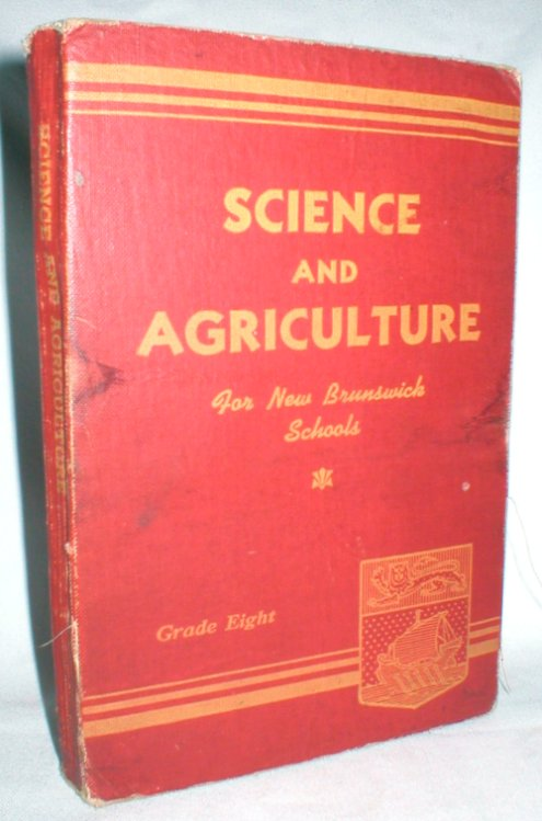Image for Science and Agriculture for New Brunswick Schools: Grade Eight