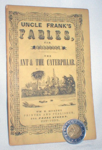 Image for Uncle Frank's Fables for Children; The Ant and the Caterpillar