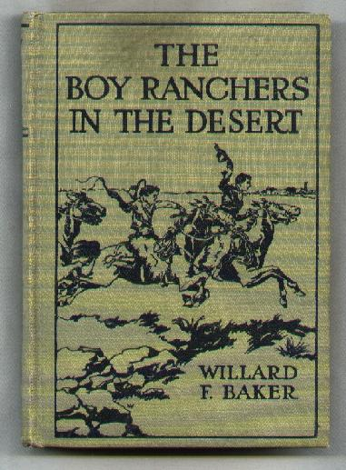 Image for The Boy Ranchers in the Desert