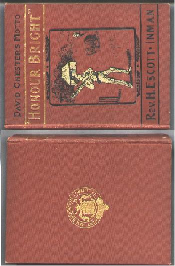 Image for David Chester's Motto; Honour Bright; A Boy's Adventures at School and at Sea.