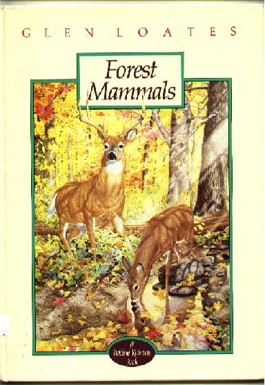 Image for Forest Mammals; The North American Wildlife Series