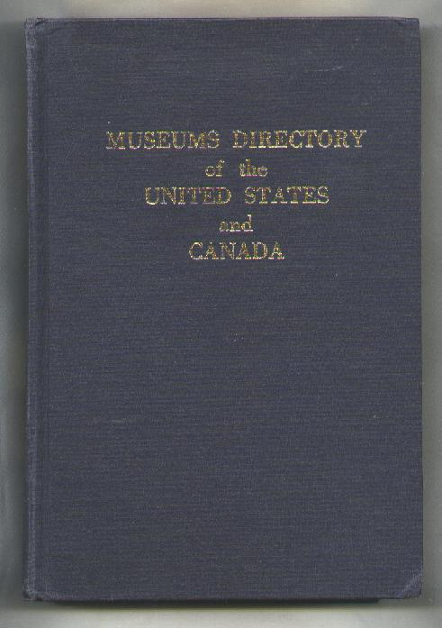 Image for Museums Directory of the United States and Canada; Second Edition