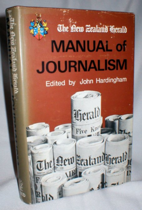 Image for The New Zealand Herald Manual of Journalism
