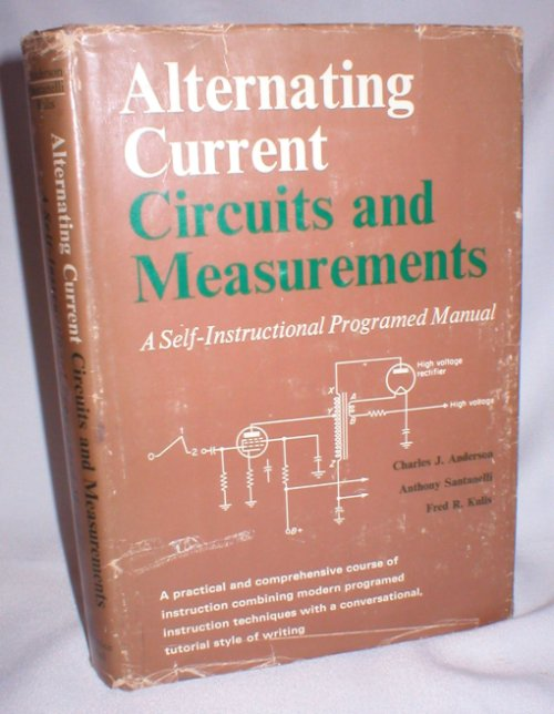 Image for Alternating Current; Circuits and Measurements; A Self-Instructional Programed Manual