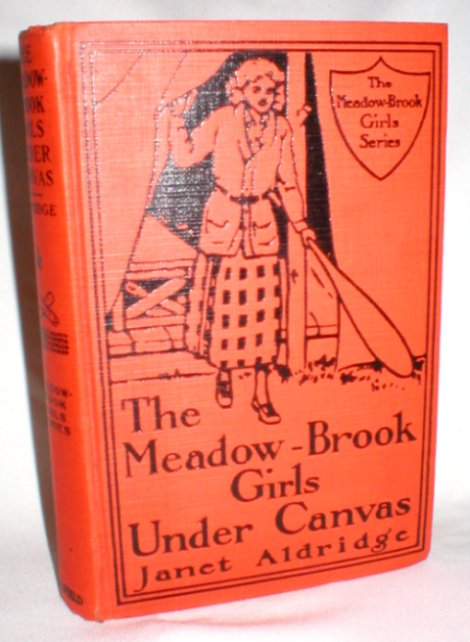 Image for The Meadow-Brook Girls Under Canvas; Or, Fun and Frolic in the Summer Camp