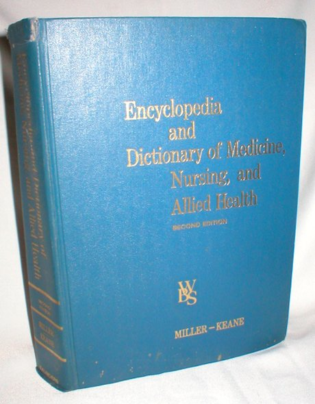 Image for Encyclopedia and Dictionary of Medicine, Nursing, and Allied Health; Second Edition