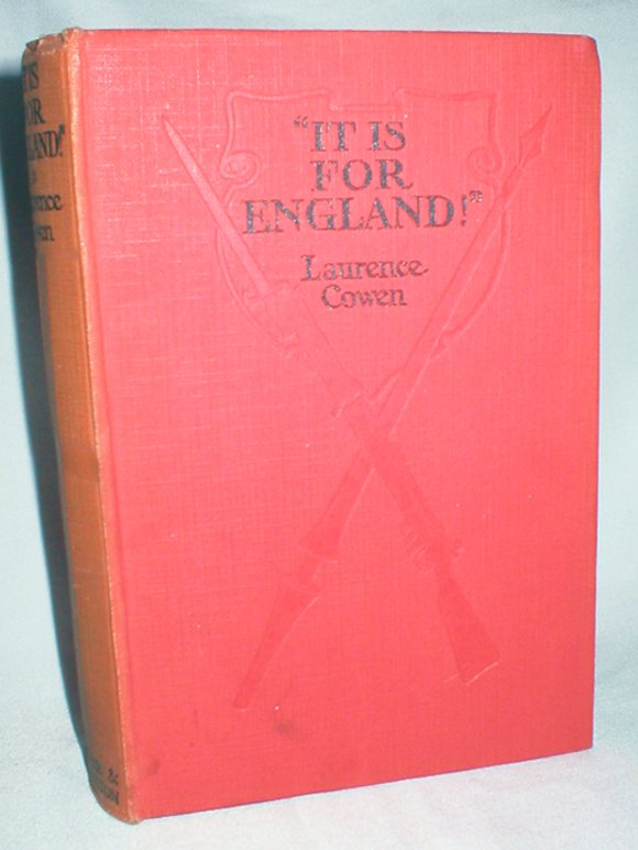 "Image for ""It Is For England!""; A Romance of Our Own Times"
