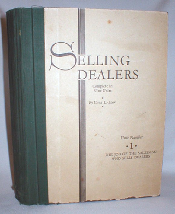 Image for Selling Dealers; Complete in Nine Units