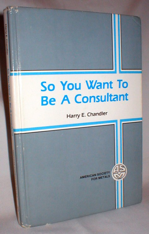 Image for So You Want to be a Consultant