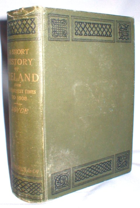 Image for A Short History of Ireland; From the Earliest Times to 1608