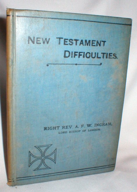 Image for New Testament Difficulties(First Series)