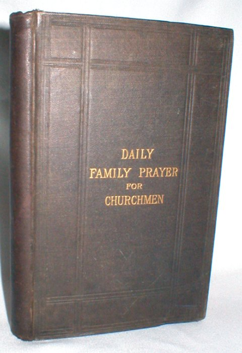 Image for Daily Family Prayer for Churchmen
