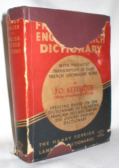 Image for Kettridge's French-English English-French Dictionary; with Phonetic Transcriptions of Every French Vocabulary Word