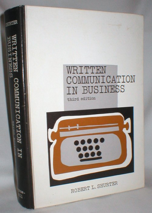 Image for Written Communication in Business; Third Edition