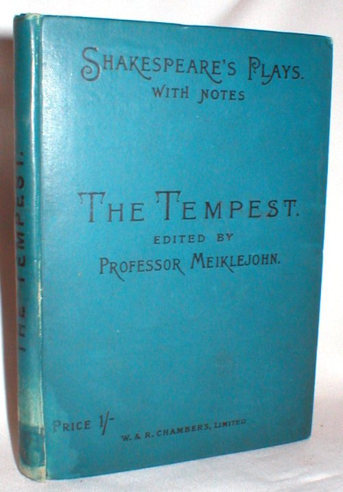 Image for The Tempest; with Notes, Examination Papers, and Plan of Preparation