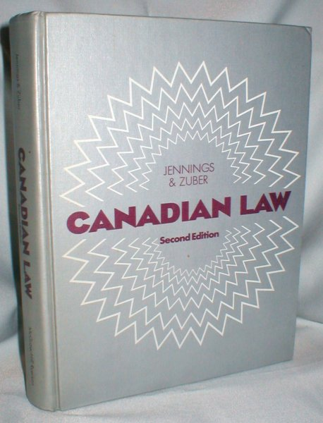 Image for Canadian Law; Second Edition
