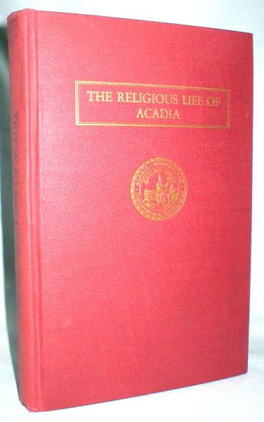 Image for The Religious Life of Acadia