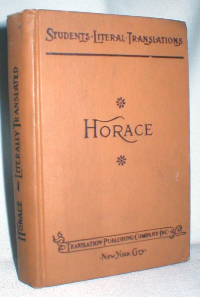 Image for The Works of Horace: Smart's Literal English Prose Translation