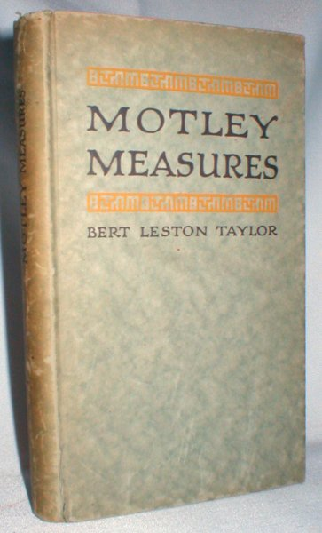Image for Motley Measures