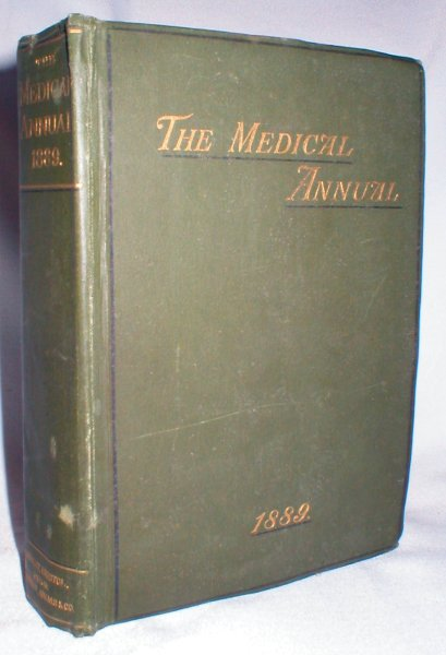Image for The Medical Annual and Practitioner's Index; 1889