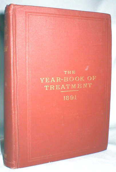 Image for The Year-Book of Treatment for 1891