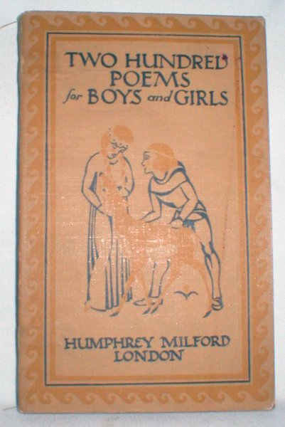 Image for Two Hundred Poems for Boys and Girls