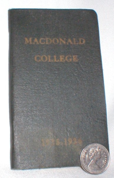 Image for The Macdonald College Students' Handbook 1935-1936