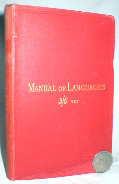 Image for Tourist's and Student's Manual of Languages (22 languages)