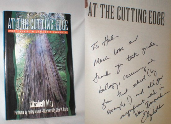 Image for At the Cutting Edge: The Crisis in Canada's Forests (Signed)