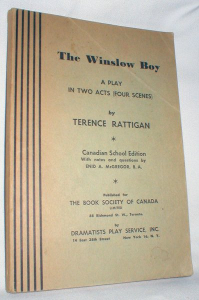 Image for The Winslow Boy: A Play in Two  Acts (Four Scenes)
