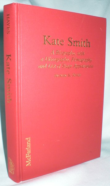 Image for Kate Smith; A Biography, with a Discography, Filmography, and List of Stage Appearances