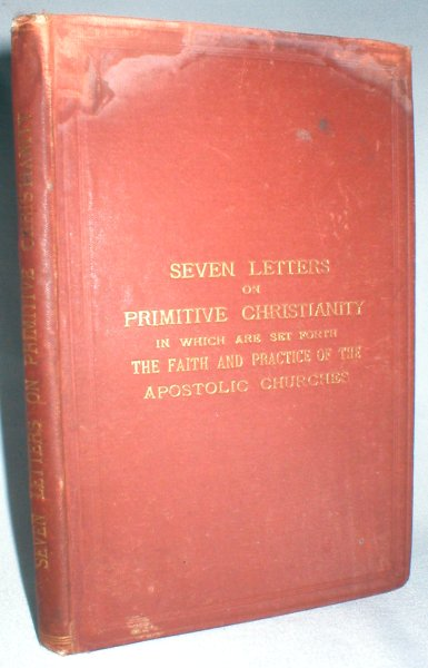 Image for Seven Letters to a Friend on Primitive Christianity