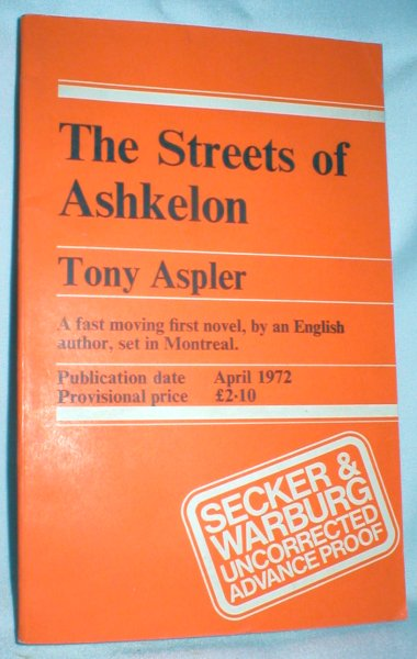 Image for The Streets of Ashkelon (Advance Proof)