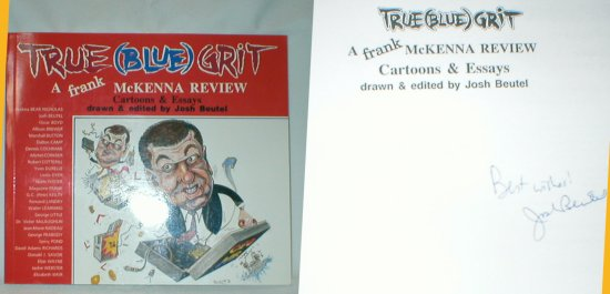 Image for True (Blue) Grit: A Frank McKenna Review (Signed)