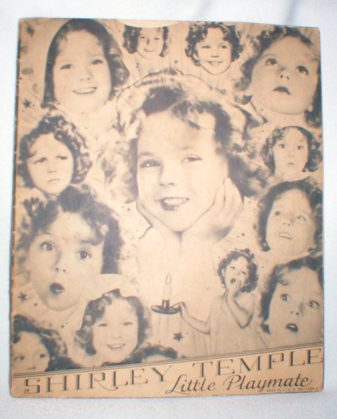 Image for Shirley Temple; Little Playmate (No. 1730-A)