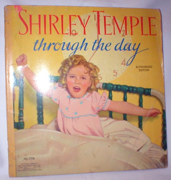 Image for Shirley Temple; Through the Day (No. 1716)
