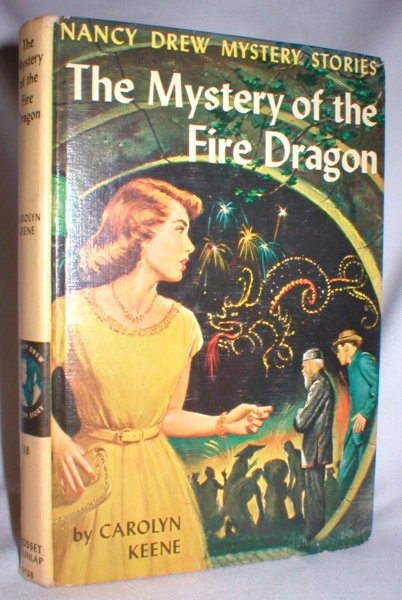 Image for The Mystery of the Fire Dragon: #38, Nancy Drew Mystery Stories