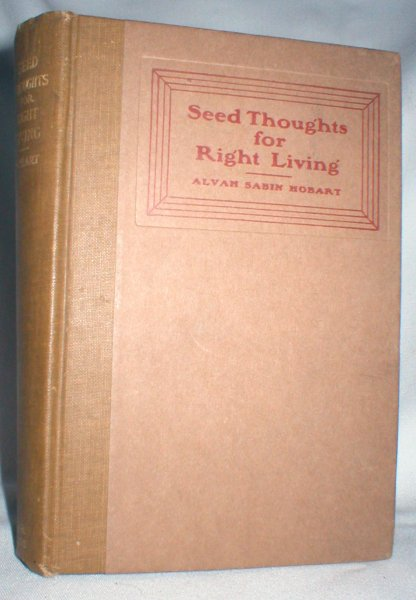Image for Seed Thoughts for Right Living
