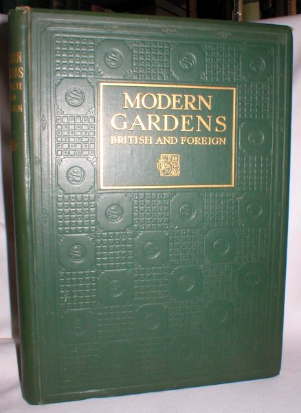 "Image for Modern Gardens British and Foreign; Special Winter Number of ""The Studio"" 1926-27"