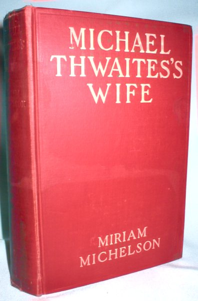 Image for Michael Thwaites's Wife