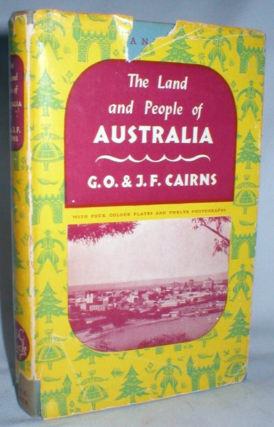 Image for Australia; The Lands and Peoples Series