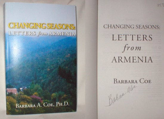 Image for Changing Seasons; Letters from Armenia (Signed)