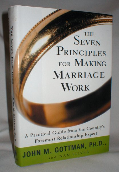 Image for The Seven Principles for Making Marriage Work
