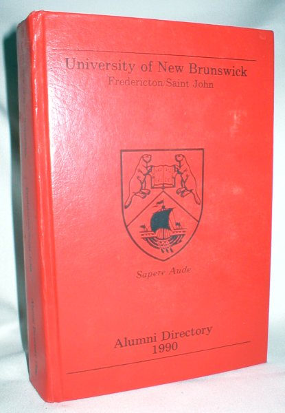 Image for University of New Brunswick Alumni Directory 1990