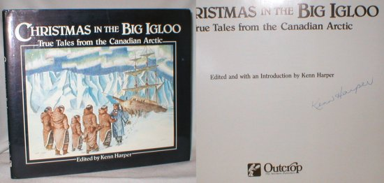 Image for Christmas in the Big Igloo; True Tales from the Canadian Arctic