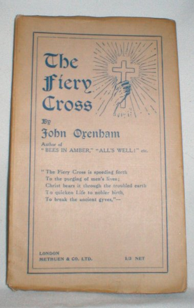 Image for The Fiery Cross; Some Verse for To-day and To-morrow