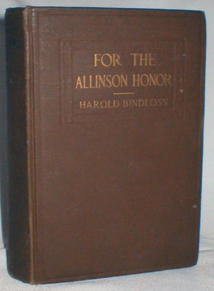 Image for For the Allinson Honor