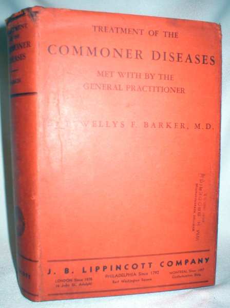 Image for Treatment of the Commoner Diseases Met With By the General Practitioner